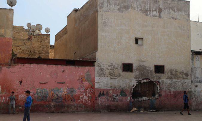 La politique dans le rues de Casablanca