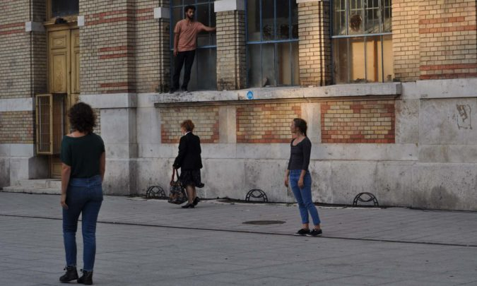 Performance à Budapest