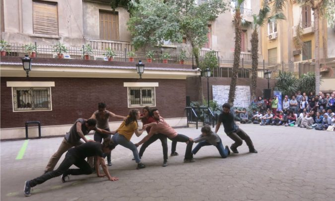 Performance au Caire